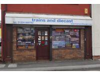 MODEL RAIL & DIECAST RETAILER BUSINESS REF 146807