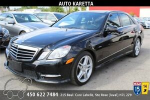 2012 MERCEDES E350 BLUETEC (DIESEL) NAVI/CAMERA/XENON/PANORAMIC