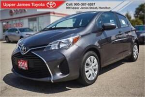 2016 Toyota Yaris LE - Toyota Certified Peace of Mind!