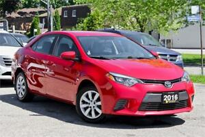 2016 Toyota Corolla LE - One Owner - Camera - Ceritifed