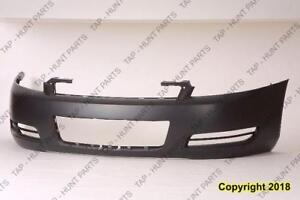 Bumper Front Primed Without Fog Lamp Hole Chevrolet Impala 2006-2013