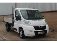 09 Citroen Relay 2.2HDi ( 120hp ) L2 35 MWB Drop side Pick-up £6690