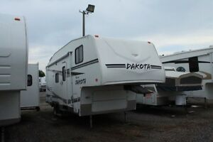 2006 Fleetwood Dakota 245RKS Fifth Wheel - $65 Bi-