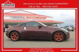 2006 Nissan 350Z fully inspected and FINANCING FOR ALL!
