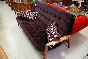 Mid Century Modern Couch by R. Huber