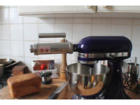 NEW and Boxed Pasta roller attachement. Fit KitchenAid Kitchen aid Sainsburry collection Mixer