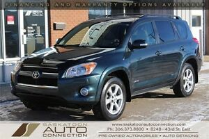 2010 Toyota RAV4 Limited ** AWD ** V6 ** LEATHER ** MOONROOF **