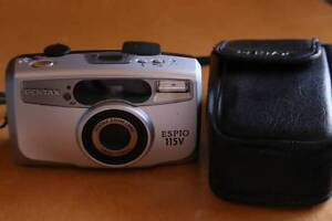 Pentax Espio 115 Compact Film Camera + Case - works perfectly Sydney City Inner Sydney Preview