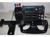 Pro Flight Yoke System by Saitek for flight simulation, Radio and Multi Panel and Throttle Quadrant.