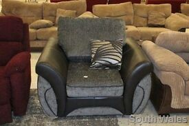 BRAND NEW EX DISPLAY DFS MATINEE ARMCHAIR IN BLACK RRP £495