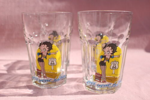 BETTY BOOP DRINKING GLASSES