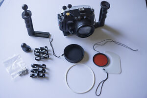 Underwater/Dive Housing for Sony A6000 Camera with Handle