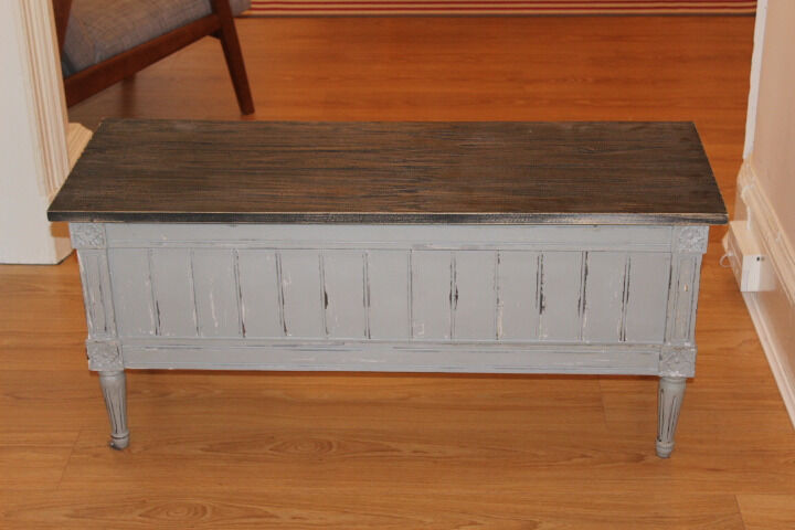 Made Bourbon Vintage Storage Bench As Good New