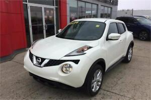 2016 JUKE pre owned only 93 km 17,800 plus taxes wow