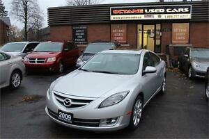 2009 Mazda Mazda6 GT * LEATHER - SUNROOF - YOU ARE APPROVED*