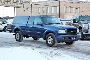 2009 Ford Ranger 4X4|CERTIFIED & 2 YEAR WARRANTY INCLUDED