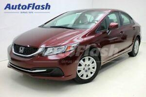 2013 Honda Civic LX *Garantie-Honda-130,000km *Bluetooth