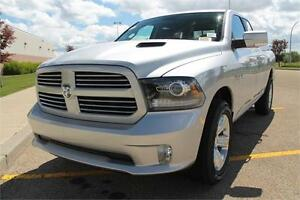 2016 RAM 1500 SPORT  0% FOR 84 MONTHS & CASH BACK OAC ! 16R16143