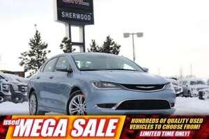2015 Chrysler 200 Limited V6| Heat Seat/Whl| Rem Start| Dual Cli