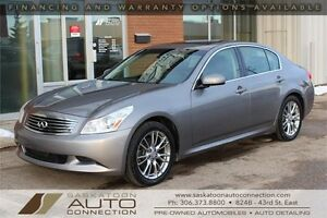 2008 Infiniti G35x ** AWD ** NAV ** SPORT PACKAGE ** LOW KM **