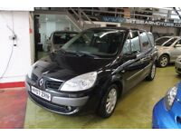 RENAULT GRAND SCENIC 1.5DCI DYNAMIQUE ,7 SEATER, 2007, 69559 MILES FULL SERVICE HISTORY, 2 KEYS