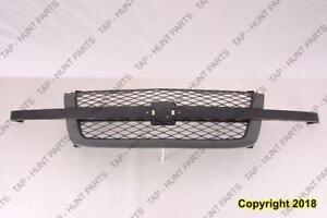 Grille Ptm Ss Model Without Dale Earnhardt Package Chevrolet Silverado 2003-2005