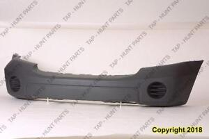 Bumper Front Textured-Gray Without Fog Moulding With Tow Hook CAPA Dodge Durango 2007-2009