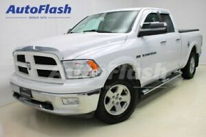 2012 Ram 1500 Outdoorsman Quad-Cab 5.7L *5-Pass* Tonneau-Cover