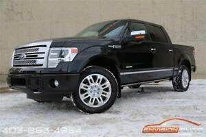 2014 Ford F-150 PLATINUM CREW \ SPOTLESS HISTORY \ ONLY 60K KMS!