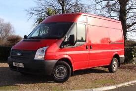 2013 Ford Transit Van 2.2TDCi ( 125PS ) ( EU5 ) 300L Med Roof 300 MWB
