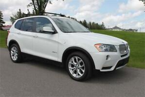 2012 BMW X3 Like New Low Km * Trades & Financing For Everyone *