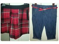 Next Girls Skirt & Trousers