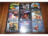 A Selection Of Playstation Games.