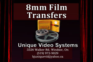 8mm Films to DVD Conversions