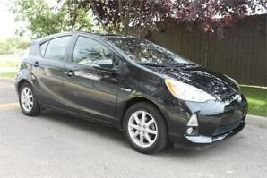 2014 Prius C Hybrid Only 65,000 Km $120 Bi-Weekly OAC Trades-In