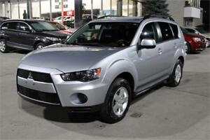2012 Mitsubishi Outlander ES|ALL WHEEL DRIVE|ONE OWNER|LOW KM