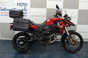 BMW F800 GS ROUGE 2015