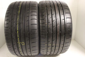 F53 2X 295/30/19 100Y ZR CONTINENTAL SPORT CONTACT 3 XL N1 1X7MM 1X8MM TREAD