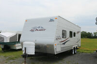 2009 JAYCO JAYFLIGHT22FB TRAVEL TRAILER