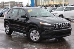 2016 Jeep Cherokee Sport| Rem Entry| 5 Uconnect w/BT| Pwr Equip|