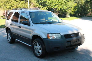 2003 FORD ESCAPE XLS DURATEC certified & e-tested