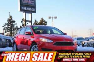 2016 Ford Focus SE Auto  Rem Entry  Pwr Equip  Cruise  AC  RV Ca
