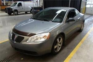 2007 Pontiac G6 GT Convertible. Mags. 119000KM. Auto