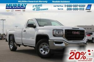 2018 GMC Sierra 1500 Reg Cab 2WD *REAR CAMERA*
