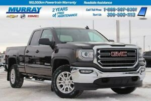 2018 GMC Sierra 1500 Double Cab*BENCH SEAT,BED LINER,REAR CAMERA