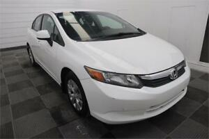 2012 Honda Civic Sdn LX Low Mileage! Fresh Safety! Clean Title!