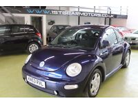VOLKSWAGEN BEETLE 1.8 T 53 PLATE 77953 MILES WITH SERVICE HISTORY