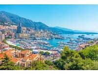 LAST MINUTE MINI BREAK - MONTE CARLO - LUXURY HOTEL + FLIGHTS FOR 2: Fri 30th June - Tues 4th July