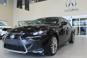 2018 Lexus IS 300 - V6 AWD - 3M- HEATED AND COOLED SEATS-SUNROOF