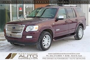 2007 Ford Explorer Limited 4x4 ** LEATHER ** MOONROOF **